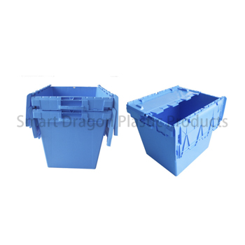 Customized 190l Large Turnover Folding Crate Logistic Box for Supermarket-1