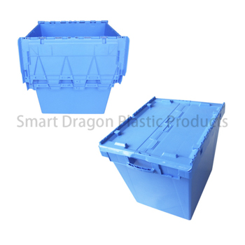 Customized 190l Large Turnover Folding Crate Logistic Box for Supermarket-2