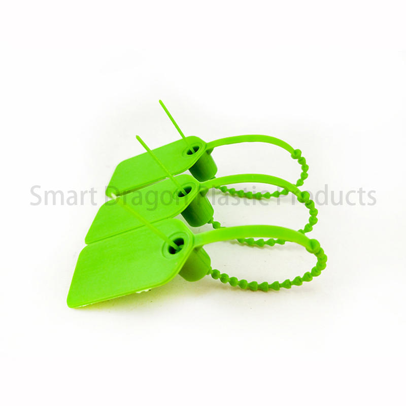 off tamper plastic bag security seal time SMART DRAGON Brand