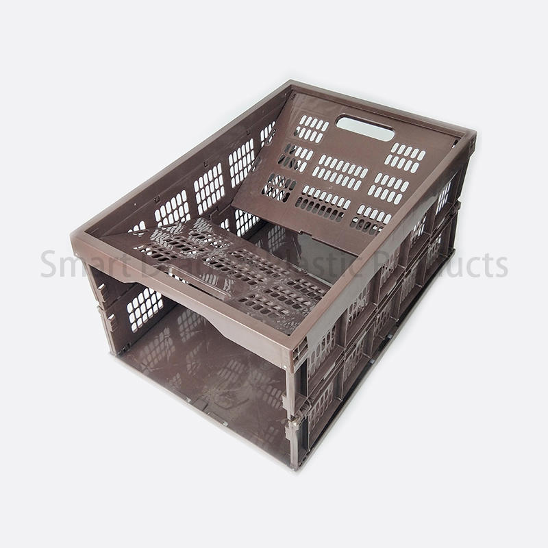 pp material portable crate mesh-wall for chain shop