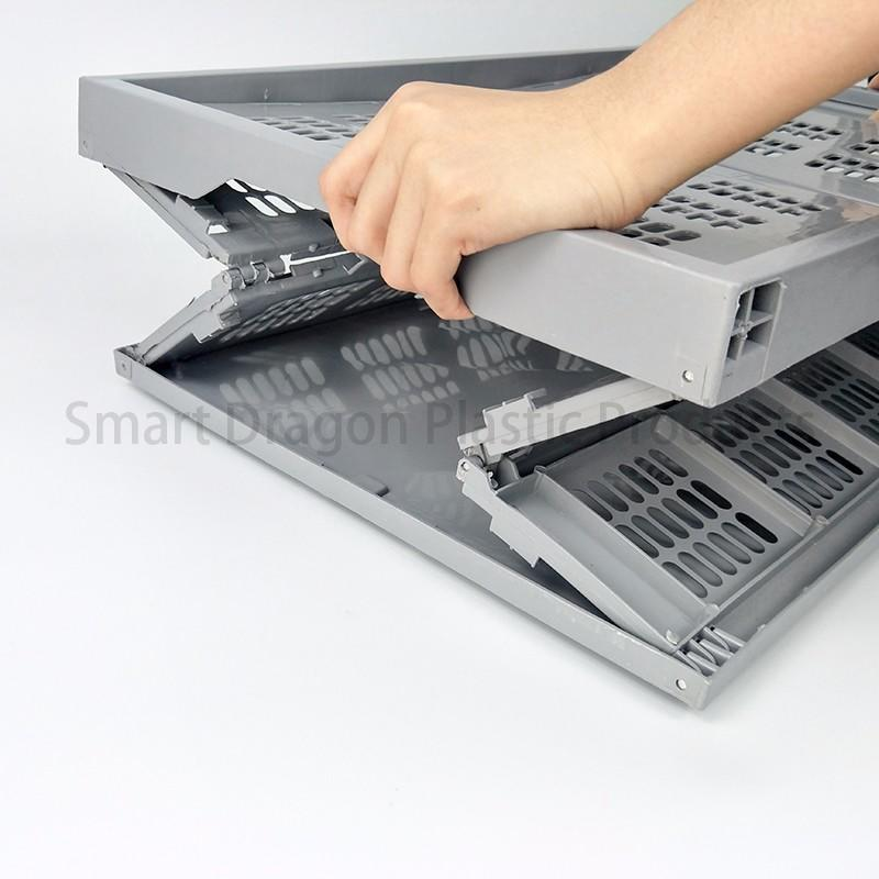 portable plastic folding boxes ventilate for home SMART DRAGON