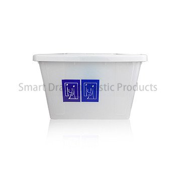Large 40l Plastic Ballot Box with Colored Lid for Election Vote-1