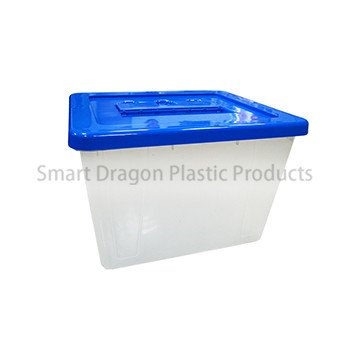 Large 40l Plastic Ballot Box with Colored Lid for Election Vote-2