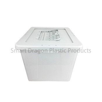 Large 40l Plastic Ballot Box with Colored Lid for Election Vote-4