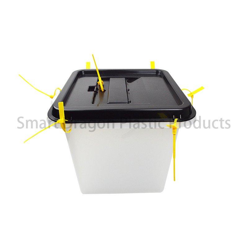 SMART DRAGON 40l-45l Plastic Ballot Box Blue with Lid for Election Plastic Ballot Box image147