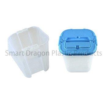 100% Polypropylene Material 38l Ballot Transparent Voting Box-1
