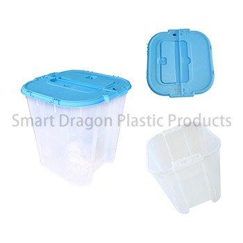 100% Polypropylene Material 38l Ballot Transparent Voting Box-2