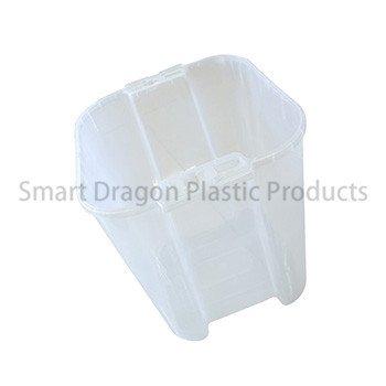 100% Polypropylene Material 38l Ballot Transparent Voting Box-3