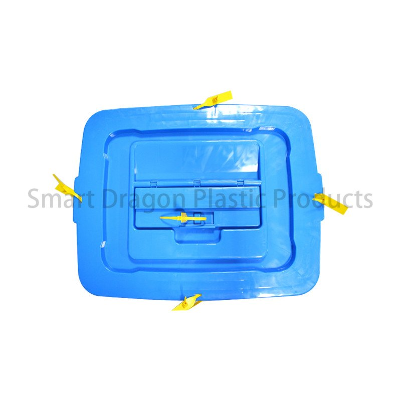 SMART DRAGON Transparent 86l Plastic Ballot Box with Seals Security Tags Sign Holder Plastic Ballot Box image144