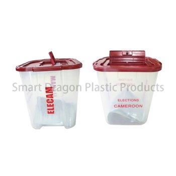 Clear 40-60l Plastic Ballot Election Voting Boxes-2