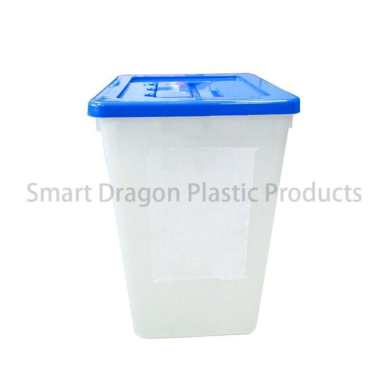 SMART DRAGON Eco-Friendly Election Plastic Ballot Security Disposable Voting Box Plastic Ballot Box image139