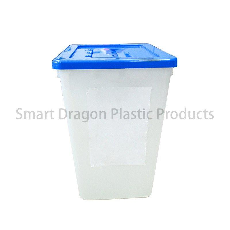 Election Plastic Security Recyclable Disposable Transparent Ballot Voting Box
