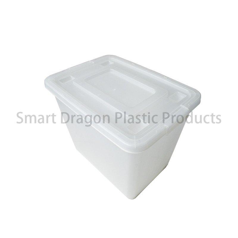 SMART DRAGON Customized 65 Liter Large Semi Transparent PP Storage Boxes & Bins Plastic Storage Boxes image132