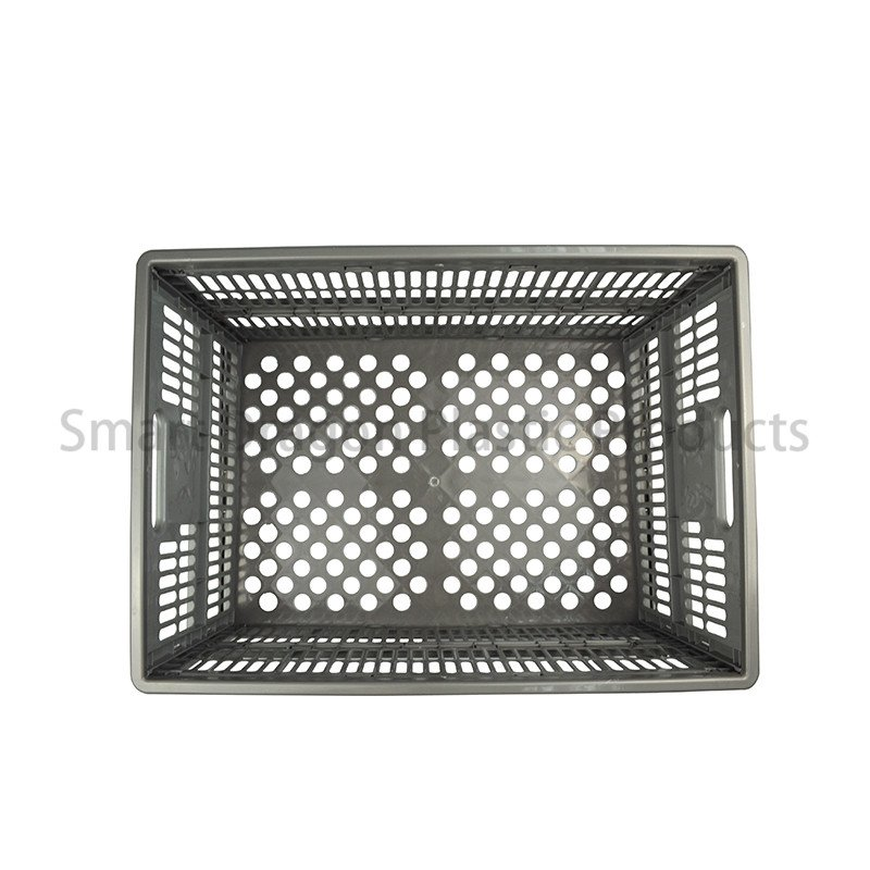 SMART DRAGON Collapsible PP Material Plastic Storage Box Perforated Ventilate Folding Basket Plastic Folding Boxes image130