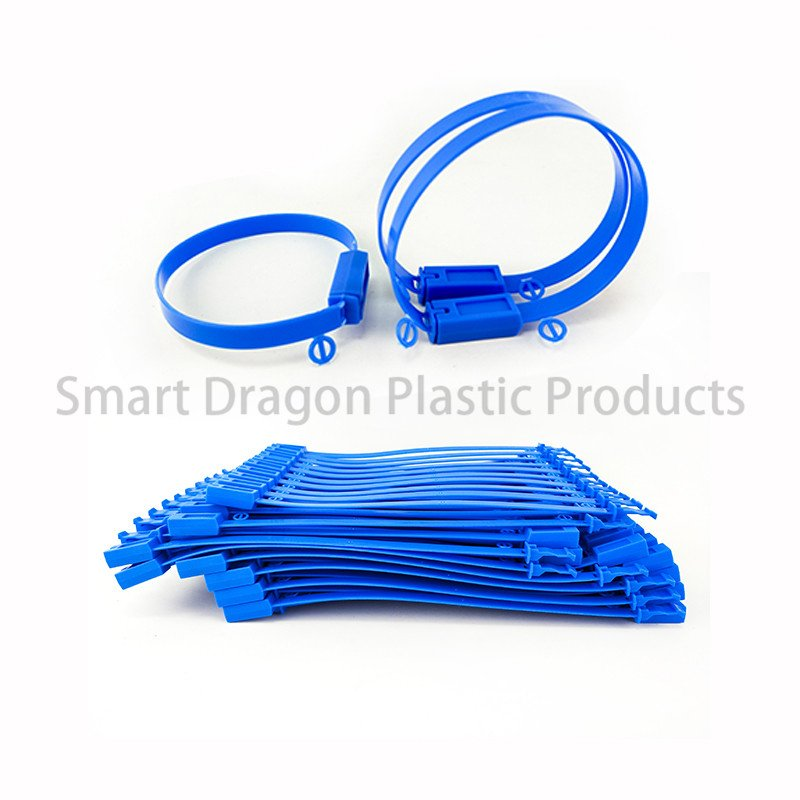 SMART DRAGON Custom Adjustable Length Plastic Seals Tear Off by Hand Tamper Proof Plastic Seal Plastic Security Seal image127