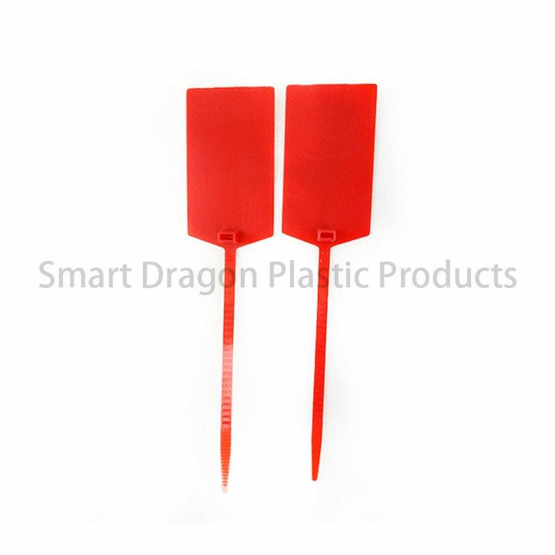 SMART DRAGON Custom Printed Total Length 350mm Tamper Proof Plastic Security Seal Plastic Security Seal image124