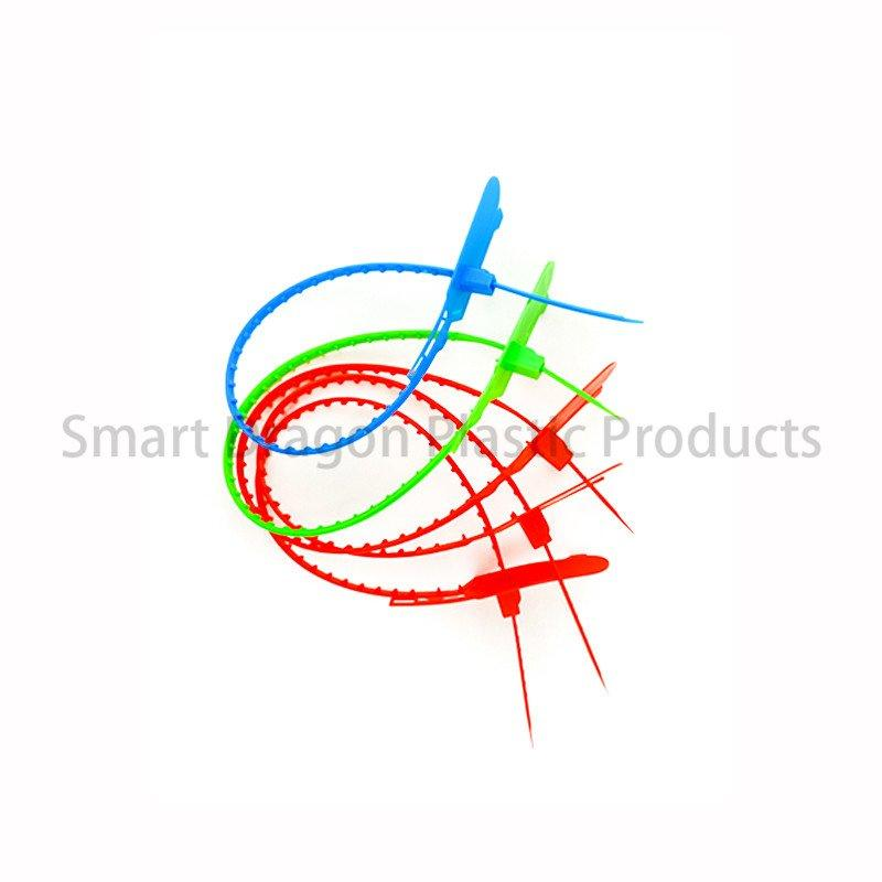 Printed Standard Total Length 430mm Tamper Proof Plastic Seal