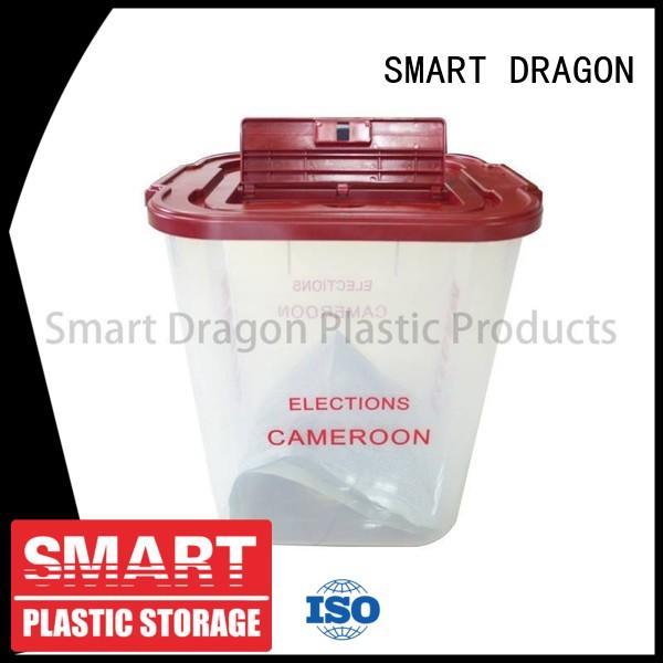 Clear 40-60l Plastic Ballot Election Voting Boxes