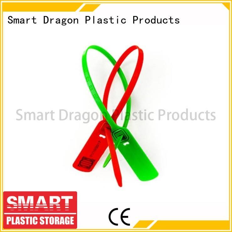 tight 430mm tag SMART DRAGON Brand plastic bag security seal