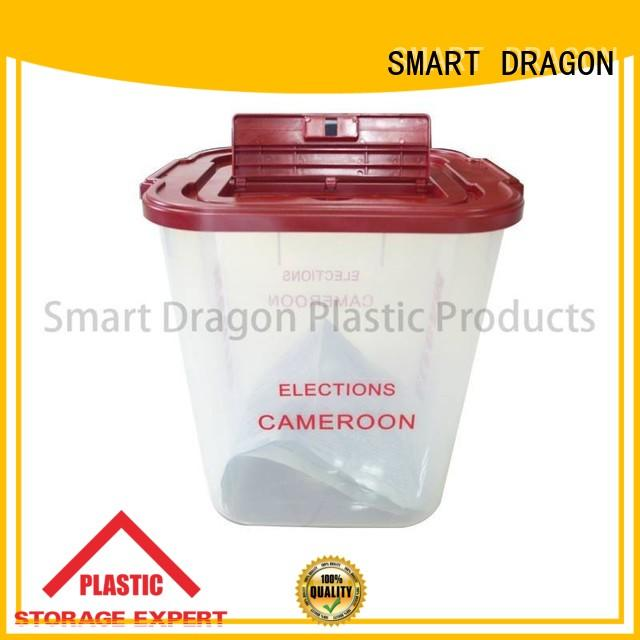 how much plastic storage boxes transparent for business for election
