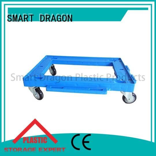 garden trolley hand moving portable SMART DRAGON Brand plastic trolley