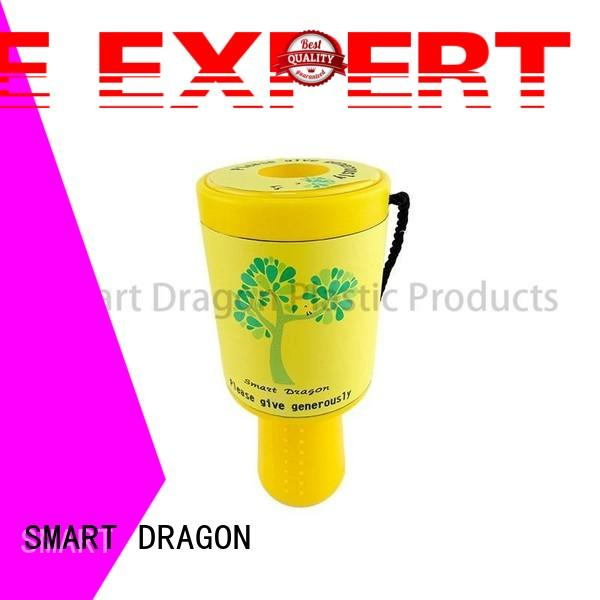 large money collection box hand-held for donation SMART DRAGON