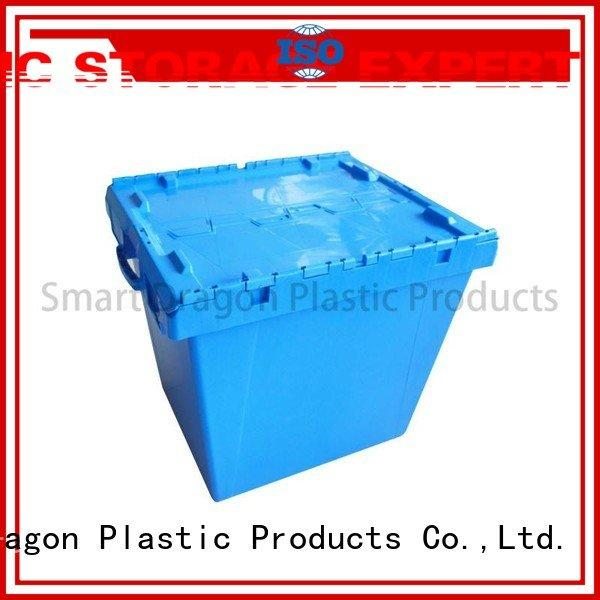 SMART DRAGON Brand pp logistics logistic plastic turnover boxes box
