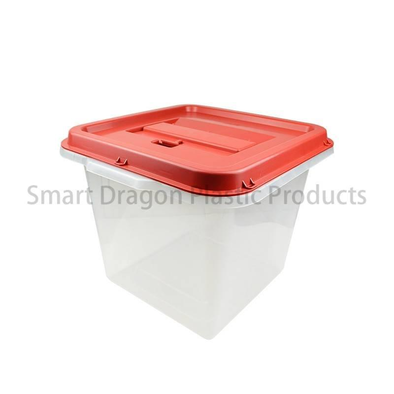 40l-45l Plastic Ballot Box Blue with Lid for Election