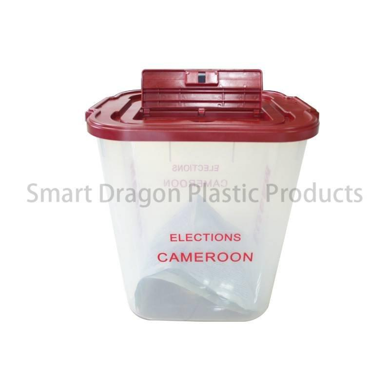 Clear 40-60l Plastic Ballot Election Voting Boxes