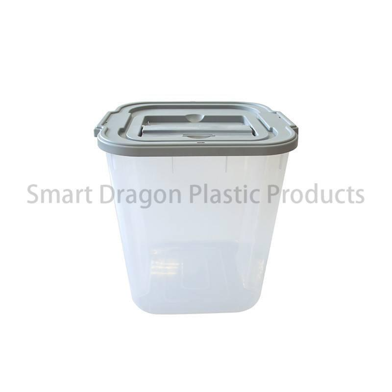 Clear Plastic Voting Ballot Box with Security Seal & Cover