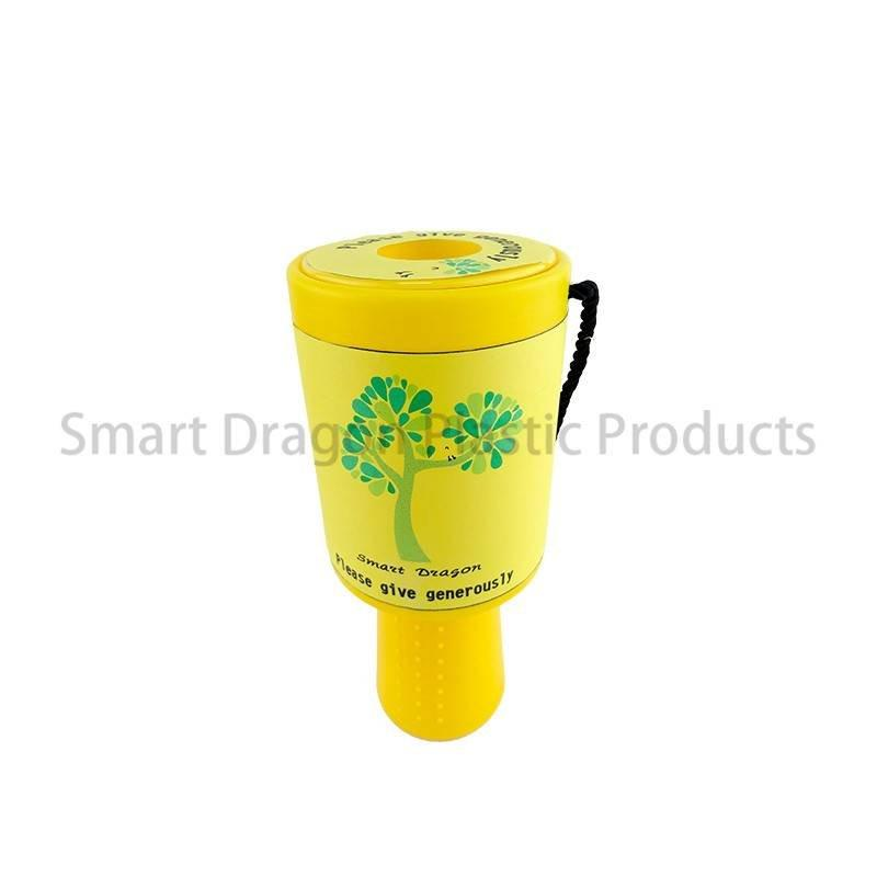 Large Acrylic Handheld Plastic Charity Safety Donation Collection Box