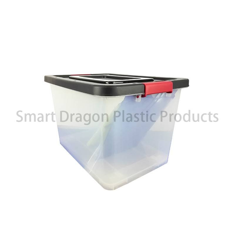 SMART DRAGON PP Clear Plastic Voting Ballot Box For Election Plastic Ballot Box image2