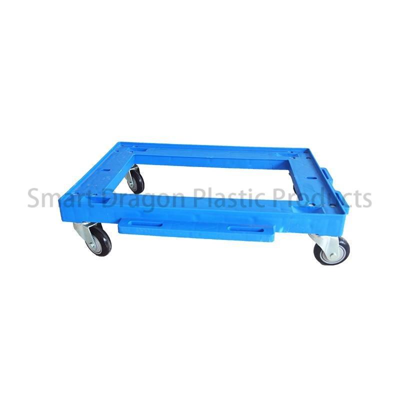 SMART DRAGON Custom Heavy Duty Wheeled Moving Carts Portable Plastic Hand Truck Plastic Trolleys image129