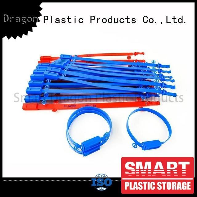 prevent temper 430mm plastic bag security seal SMART DRAGON Brand