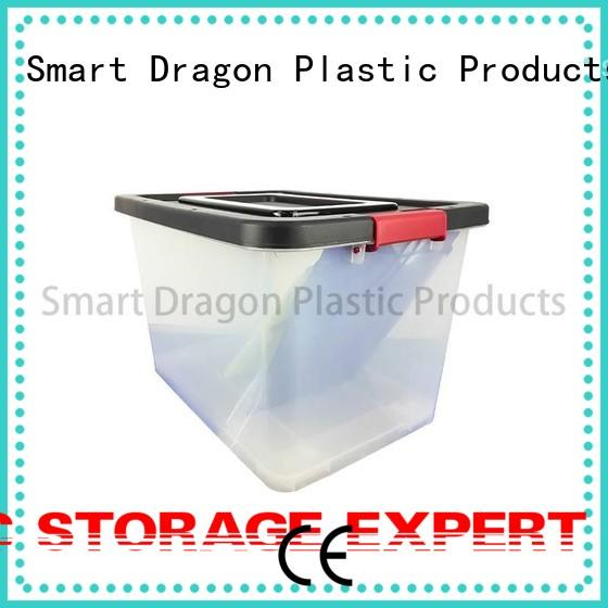 plastic box on-wheels for shipping SMART DRAGON