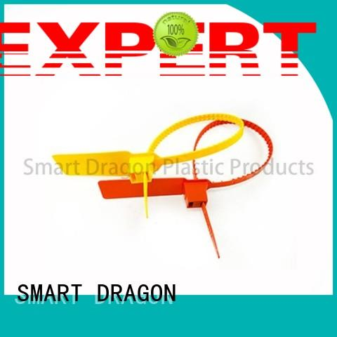 SMART DRAGON one-time plastic padlock seal total length for voting box