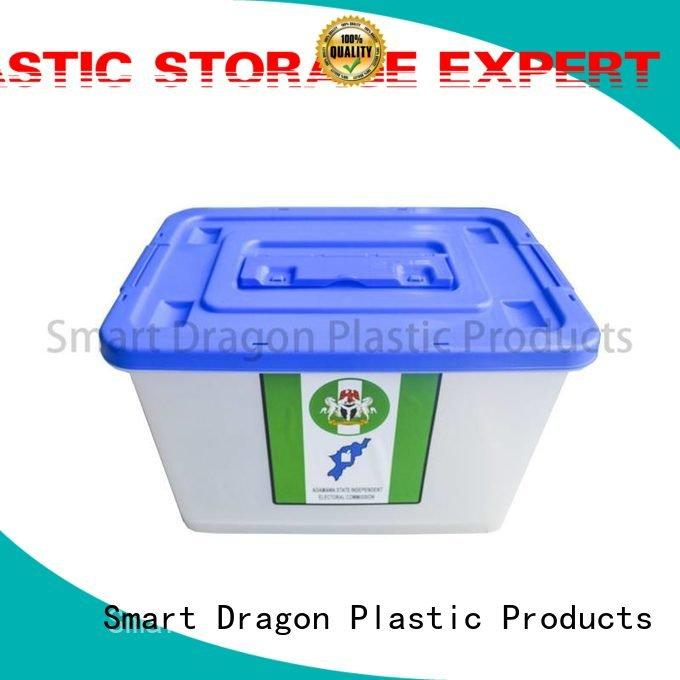 SMART DRAGON Brand polypropylene box colored plastic products 40l50l60l