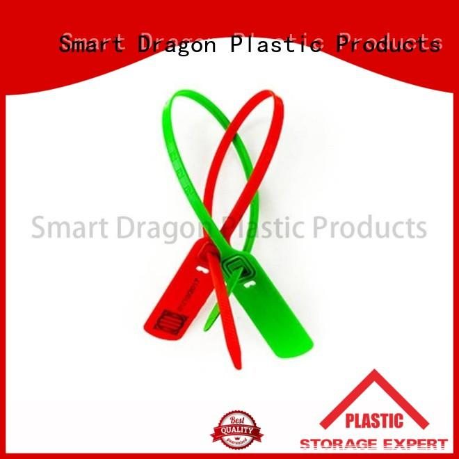 SMART DRAGON colored shipping container seals pressure for ballot box