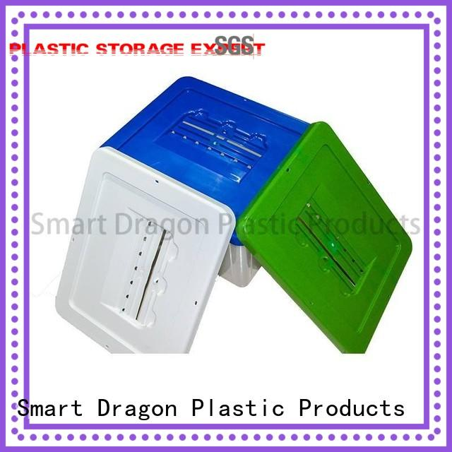 Custom standing 40l45l plastic products SMART DRAGON blue