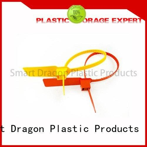 high security truck seals evident SMART DRAGON Brand plastic bag security seal