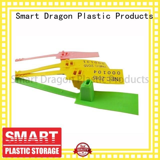 SMART DRAGON Brand box tamper 250mm plastic bag security seal manufacture