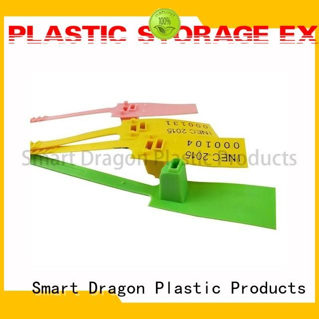 pp material plastic container seal polypropylene for voting box SMART DRAGON