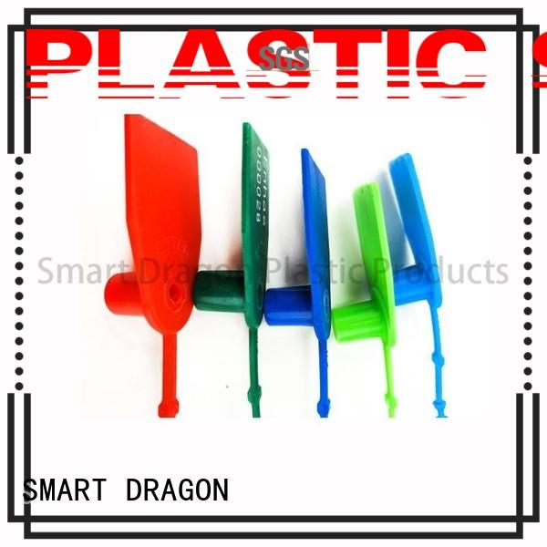 SMART DRAGON recycle plastic tamper evident seals pull for ballot box