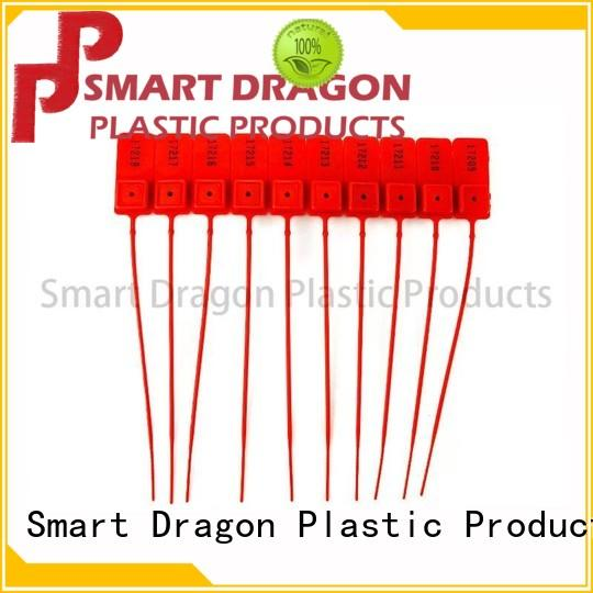 SMART DRAGON tag tamper evident seals pp material for packing