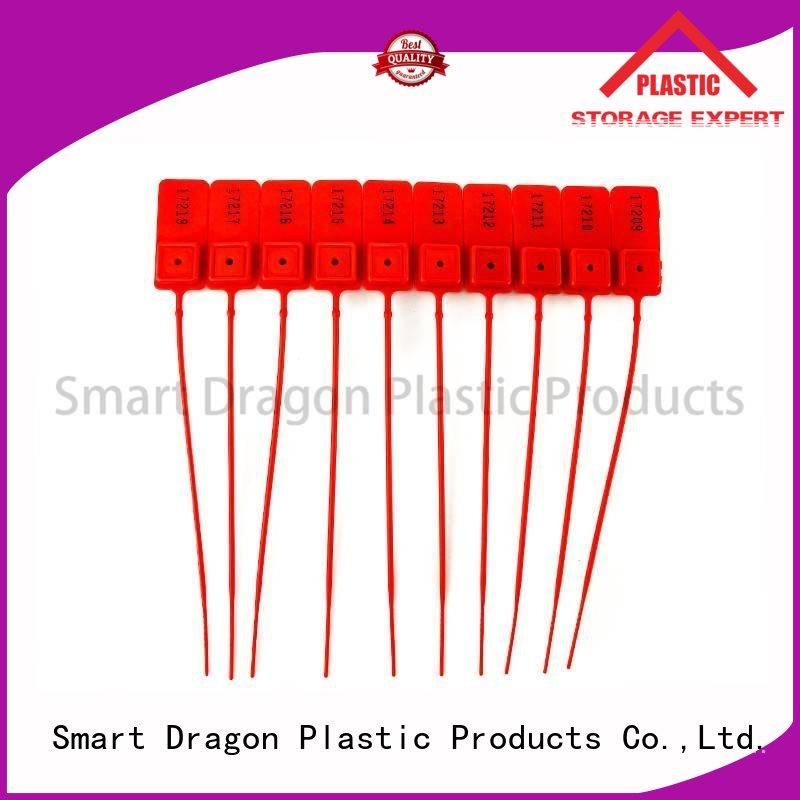high security truck seals tank pp SMART DRAGON Brand plastic bag security seal