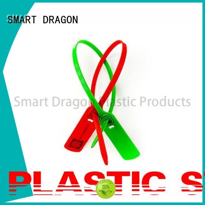 SMART DRAGON self-locking plastic luggage seal standard for packing