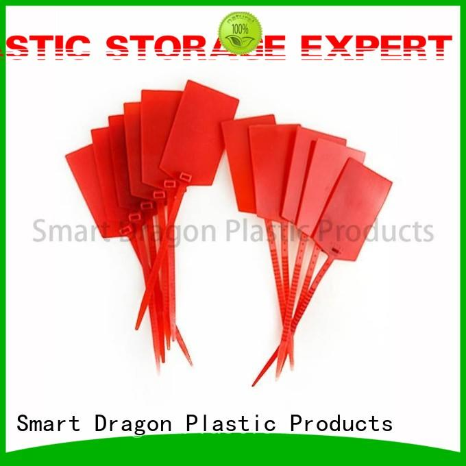 SMART DRAGON special processing plastic cable seal total length for ballot box