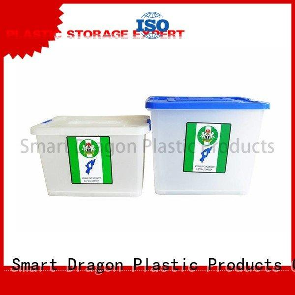 40l50l60l ecofriendly plastics colored SMART DRAGON ballot box company