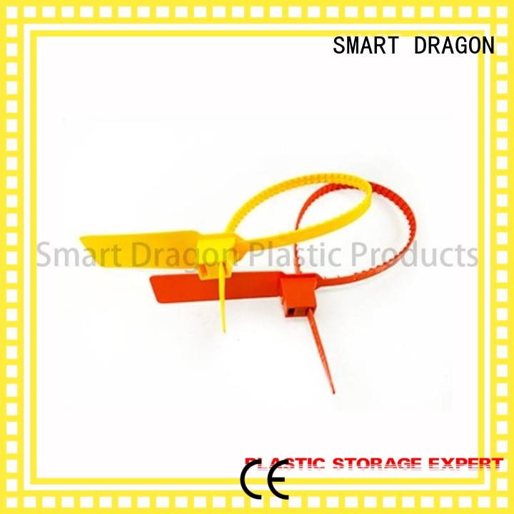 SMART DRAGON Brand pp seals plastic bag security seal manufacture