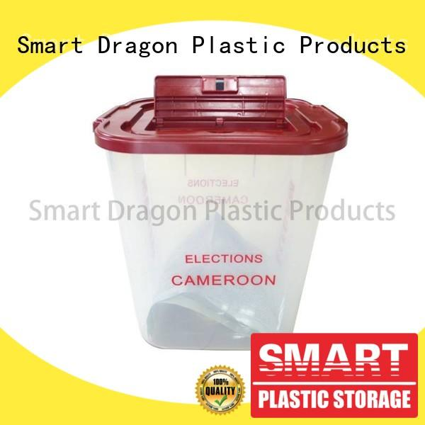 recyclable floor standing ballot box directional for election SMART DRAGON
